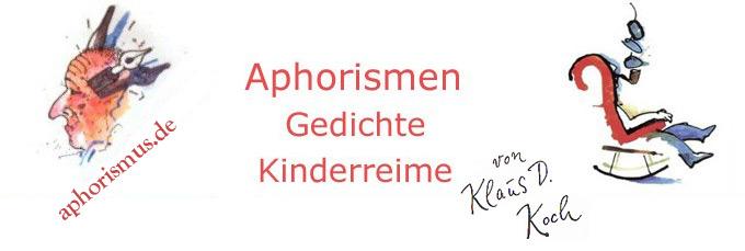aphorismus.de – Aphorismen von Klaus D. Koch