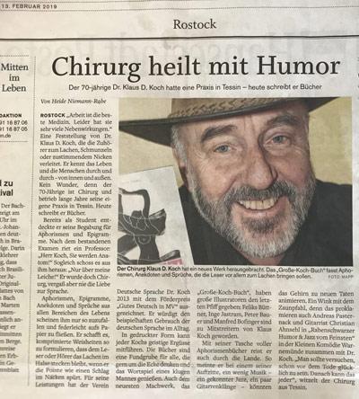 NNN über die Bücher von Klaus D. Koch